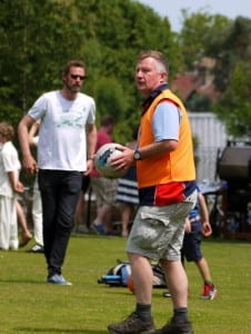 Tennis v Cricket Football Match 22.06 (5)